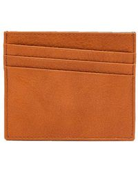 Maison Margiela - Bi Colour Grained Leather Cardholder - Lyst