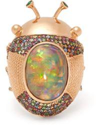 Daniela Villegas - Palais Royal Sapphire & 18kt Rose Gold Ring - Lyst