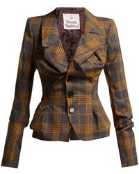 Vivienne Westwood - Alcoholic Tartan Wool Jacket - Lyst