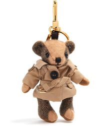 Burberry - Thomas Camel Trench-coat Cashmere Keyring - Lyst