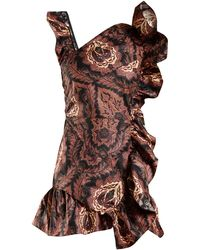 Isabel Marant - Malvern Ruffle-trimmed Floral-print Cotton Dress - Lyst