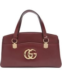 Gucci - Arli Smooth Leather Top Handle Bag - Lyst