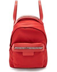 Stella McCartney - Falabella Eco Nylon Backpack - Lyst