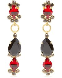 Marni - Faux-pearl And Bead-drop Clip-on Earrings - Lyst