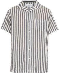 Onia Vacation Striped Shirt - White