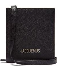 Jacquemus - Le Gadjo Xs Leather Necklace Bag - Lyst