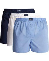Polo Ralph Lauren - Pack Of Three Cotton Boxer Briefs - Lyst