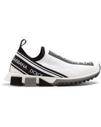 Dolce & Gabbana - Sorrento Logo-print Low-top Trainers - Lyst