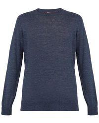 Brunello Cucinelli - Crew-neck Linen-blend Sweater - Lyst