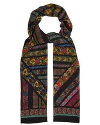 Etro - Floral-print Silk Scarf - Lyst
