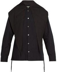 Sasquatchfabrix - Big Scarf Box Cotton Shirt - Lyst