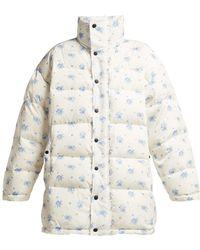 Balenciaga - Oversized Padded Down Filled Jacket - Lyst