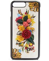 Dolce & Gabbana - Majolica-print Iphone® 7 Plus Case - Lyst