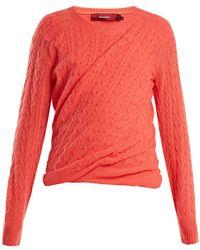 Sies Marjan - Libbie Cable-knit Cashmere Jumper - Lyst