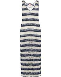 Anna Kosturova | Bardot Crochet Maxi Dress | Lyst