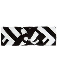 Fendi - Logo Intarsia-knit Headband - Lyst