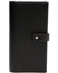 Saint Laurent - Sac De Jour Leather Continental Wallet - Lyst
