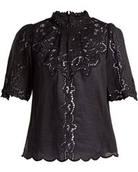 Isabel Marant - Mumba Broderie-anglaise Top - Lyst