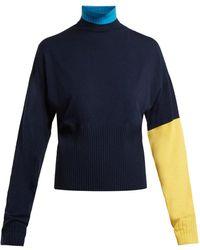 Sportmax - Plava Sweater - Lyst
