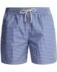 Polo Ralph Lauren - Gingham Swim Shorts - Lyst