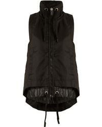 NO KA 'OI - Mile Zip-through Performance Gilet - Lyst