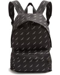 Balenciaga   Logo-print Canvas Backpack   Lyst
