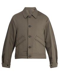 Wooyoungmi - Pintucked Detail Cotton Jacket - Lyst