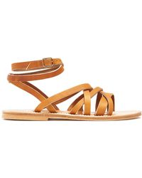 K. Jacques - Aphrodite Leather Sandals - Lyst