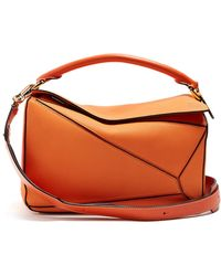 Loewe - Puzzle Grained Leather Bag - Lyst