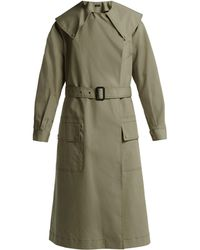 JOSEPH - Damon Cotton Gabardine Trench Coat - Lyst