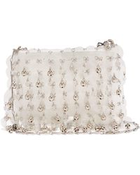 Paco Rabanne - Sequin And Bell Embellished Leather Bag - Lyst