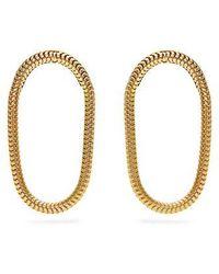Fernando Jorge - Yellow-gold Parallel Earrings - Lyst