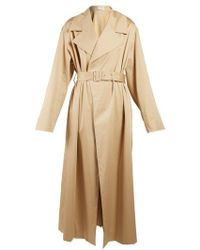 The Row - Moora Notch-lapel Trench Coat - Lyst