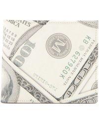 Maison Margiela | Dollar Bill-print Leather Bi-fold Wallet | Lyst
