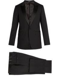 Lanvin - Single-breasted Wool-blend Tuxedo - Lyst