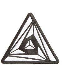 Junya Watanabe - Triangular Geometric-embroidered Badge - Lyst