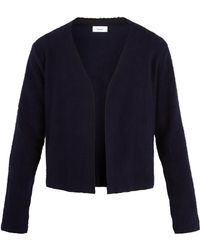 Fanmail - Sherpa-fleece Cotton Cardigan - Lyst