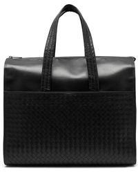 Bottega Veneta - Intrecciato Leather Holdall - Lyst
