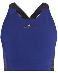 adidas By Stella McCartney - The High Intensity Climachill Performance Bra - Lyst