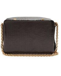 Lutz Morris - Morrow Small Crocodile-effect Leather Bag - Lyst
