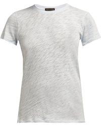 ATM - Slubbed Cotton Jersey T Shirt - Lyst