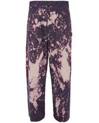 Needles Acid Wash Jeans - Purple