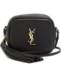 Saint Laurent | Monogram Blogger Leather Cross-body Bag | Lyst