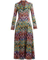 Missoni - Zigzag Knit Coat - Lyst