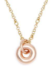 Spinelli Kilcollin - Nebula 18kt Rose-gold Pendant Necklace - Lyst