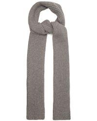 Gabriela Hearst - Ribbed-knit Cashmere Scarf - Lyst