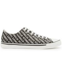 Vetements - Logo Low-top Leather Trainers - Lyst