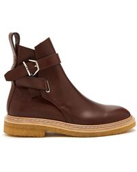 Acne | Julian Leather Chelsea Boots | Lyst