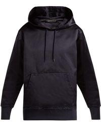 Undercover - Silk Hooded Sweatshirt - Lyst