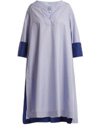 Thierry Colson | Samia Cotton-poplin Cover-up | Lyst